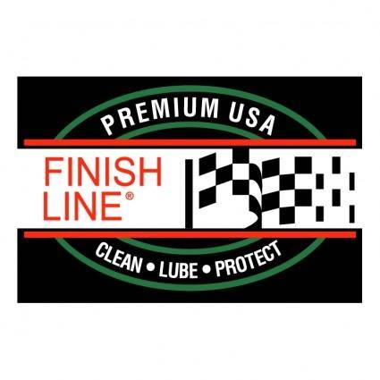 free vector Finish line
