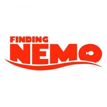 free vector Finding nemo 0