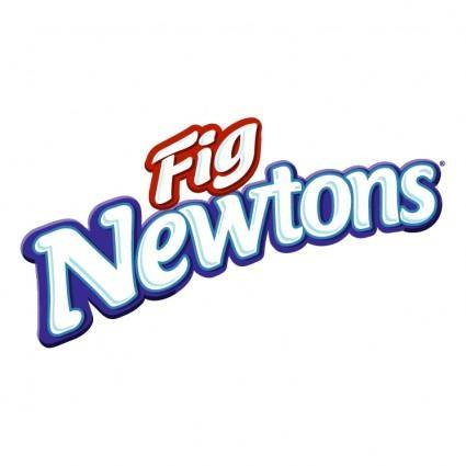 free vector Fig newton