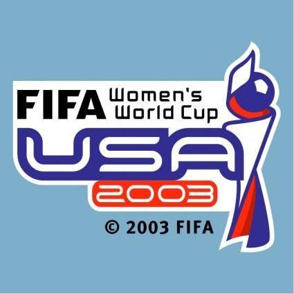 Fifa womens world cup usa 2003
