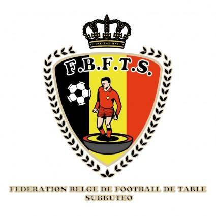 free vector Federation belge de football de table subbuteo