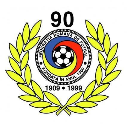 free vector Federatia romana de fotbal