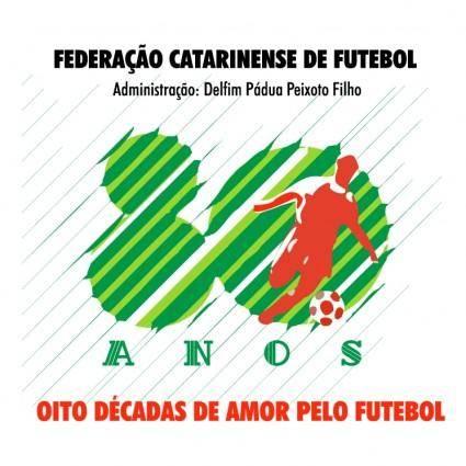 Federacao catarinense de futebol 80 anos