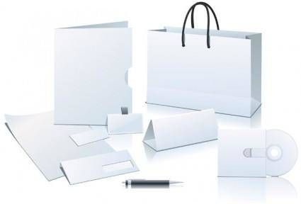 free vector Enterprise application blank vi element vector