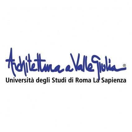 free vector Facolta di architettura valle giulia