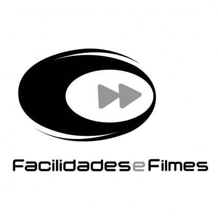 Facilidades e filmes