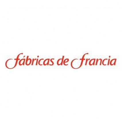 free vector Fabricas de francia
