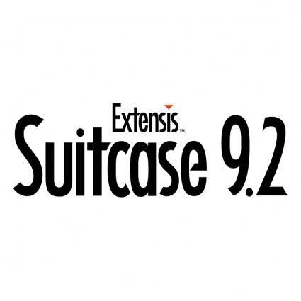 Extensis suitcase 92