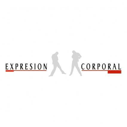 free vector Expresion corporal