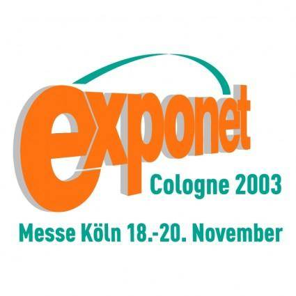 free vector Exponet cologne 2003