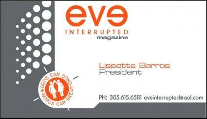 free vector Eve interrupted magazine