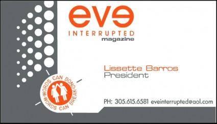 Eve interrupted magazine