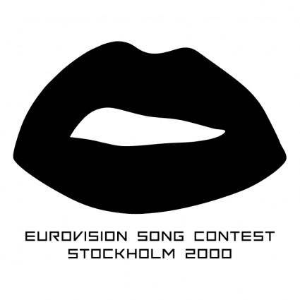 free vector Eurovision song contest 2000