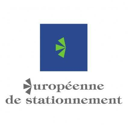 free vector Europeenne de stationnement