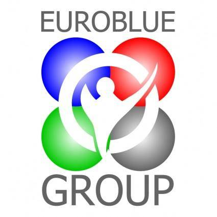 free vector Euroblue group