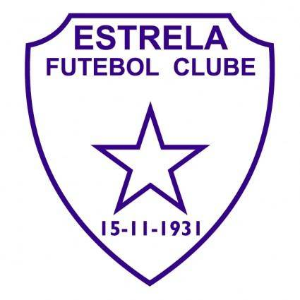 free vector Estrela futebol clube de estrela rs