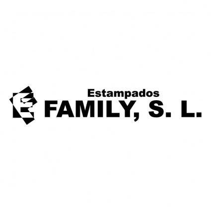 Estampados family