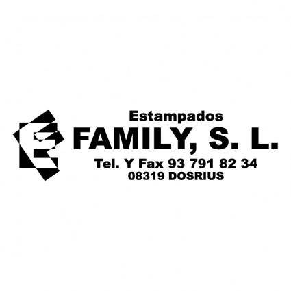 Estampados family 0