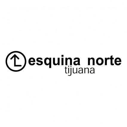 free vector Esquina norte
