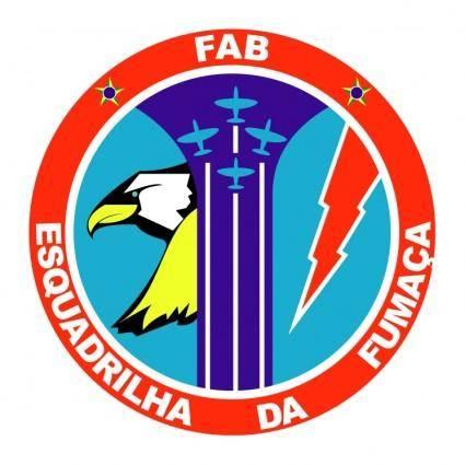 free vector Esquadrilha da fumaca