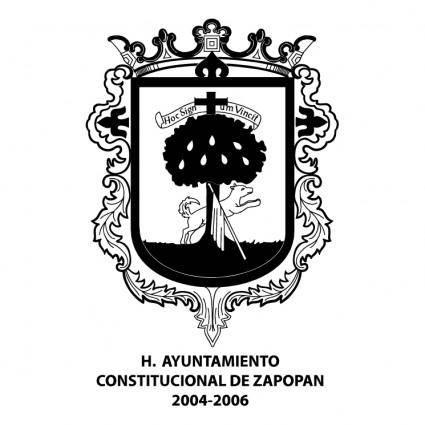 free vector Escudo zapopan 0