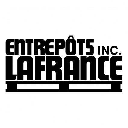 free vector Entrepots lafrance