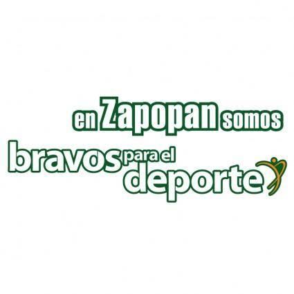 free vector En zapoppan somos brabos para el deporte 1