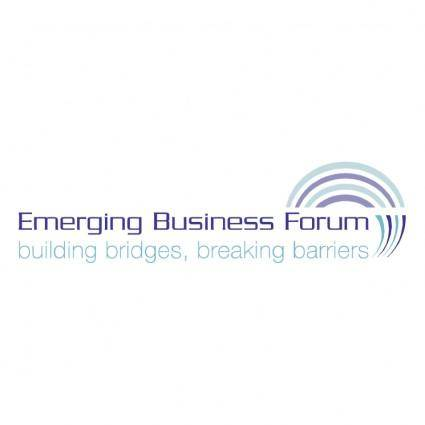 free vector Emerging bisuness forum