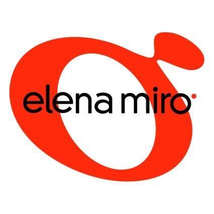 free vector Elena miro 0