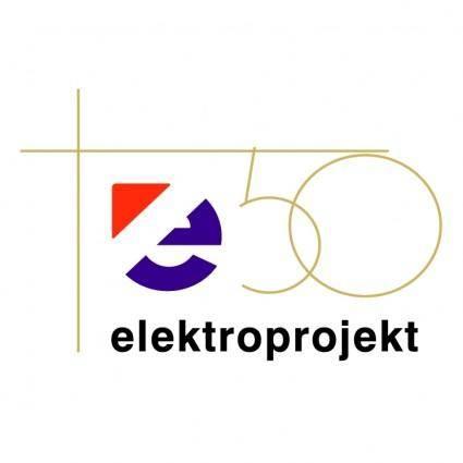 free vector Elektroprojekt 50 years