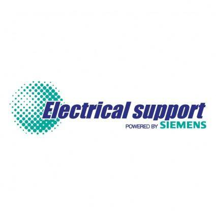 free vector Electrical support