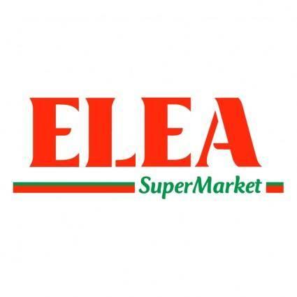 free vector Elea supermarket