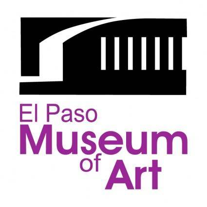 free vector El paso museum of art