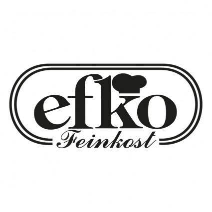 free vector Efko feinkost