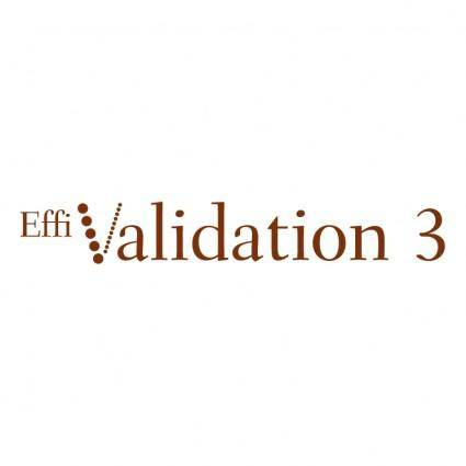 free vector Effivalidation