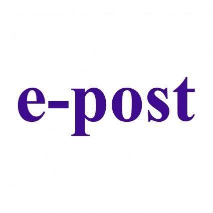 E post