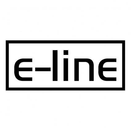 free vector E line