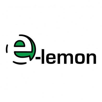 free vector E lemon