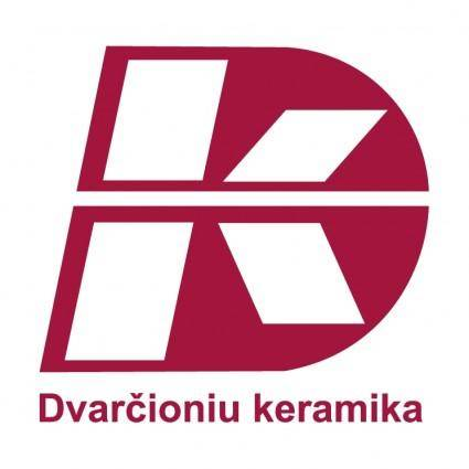 free vector Dvarcioniu keramika