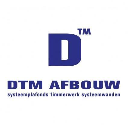 free vector Dtm afbouw