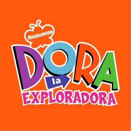 free vector Dora la exploradora
