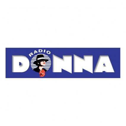 free vector Donna radio 1