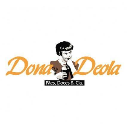 free vector Dona deola