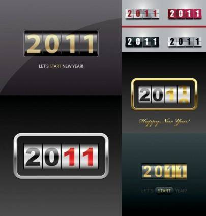 2011 new year clip art