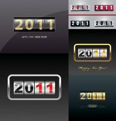 free vector 2011 new year clip art