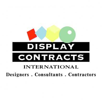 Display contracts international