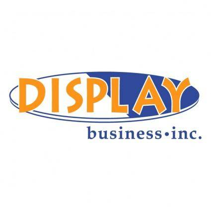 free vector Display business inc