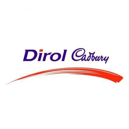 free vector Dirol cadbury