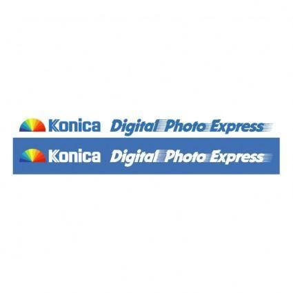 free vector Digital photo express