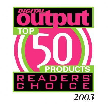 Digital output readers choice
